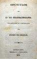 Opusculos del S. de Chateaubriand - Traducidos por Pedro de Angelis.pdf