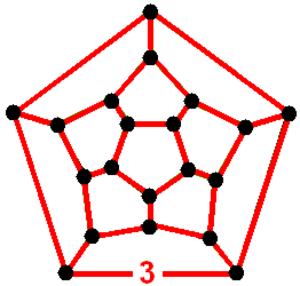 Icosahedral honeycomb - Image: Order 3 icosahedral honeycomb verf