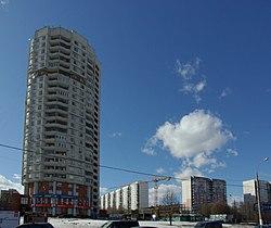 Skyline of Orekhovo-Borisovo Severnoye縣