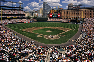 1996 Baltimore Orioles season - Oriole Park at Camden Yards, September 1996