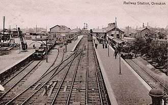 Ormskirk railway station - Image: Ormskirk Station