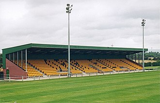 Orrell R.U.F.C. - The £500,000 north stand contributed heavily to the club's financial troubles