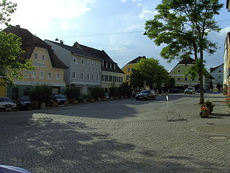 Ortenburg (Bavaria) - Ortenburg town centre