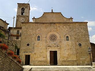 Ortona dei Marsi - Church of St. John the Baptist