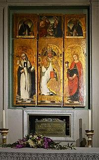 Ossa e ceneri del beato Jacopo da Varagine, Chiesa di San Domenico (Varazze) 03.jpg