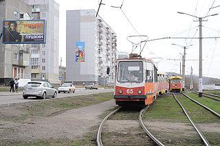Osinniki Town in Kemerovo Oblast, Russia