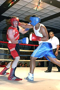 Headgear is mandatory in amateur boxing