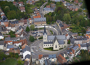 Overijse - Image: Overijse aerial photo A
