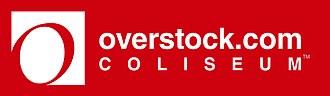 Oakland–Alameda County Coliseum - Overstock.com Coliseum Logo (April–June 2011)