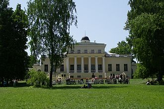 Fyodor Tyutchev - The manor of Tyutchev's father in the Bryansk region