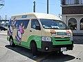 Oyabe City Bus 105 at Isurugi Station 01.jpg