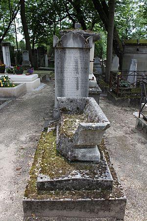Jean-François Roger - Roger's grave at Père Lachaise cemetey (21st division