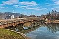 Pörtschach Promenadenbad Brücke zur Blumeninsel 01122018 5514.jpg