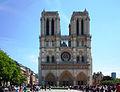 P0100 Paris Notre Dame Cathédral Front and Parvis Our Lady of Paris (5642146713).jpg