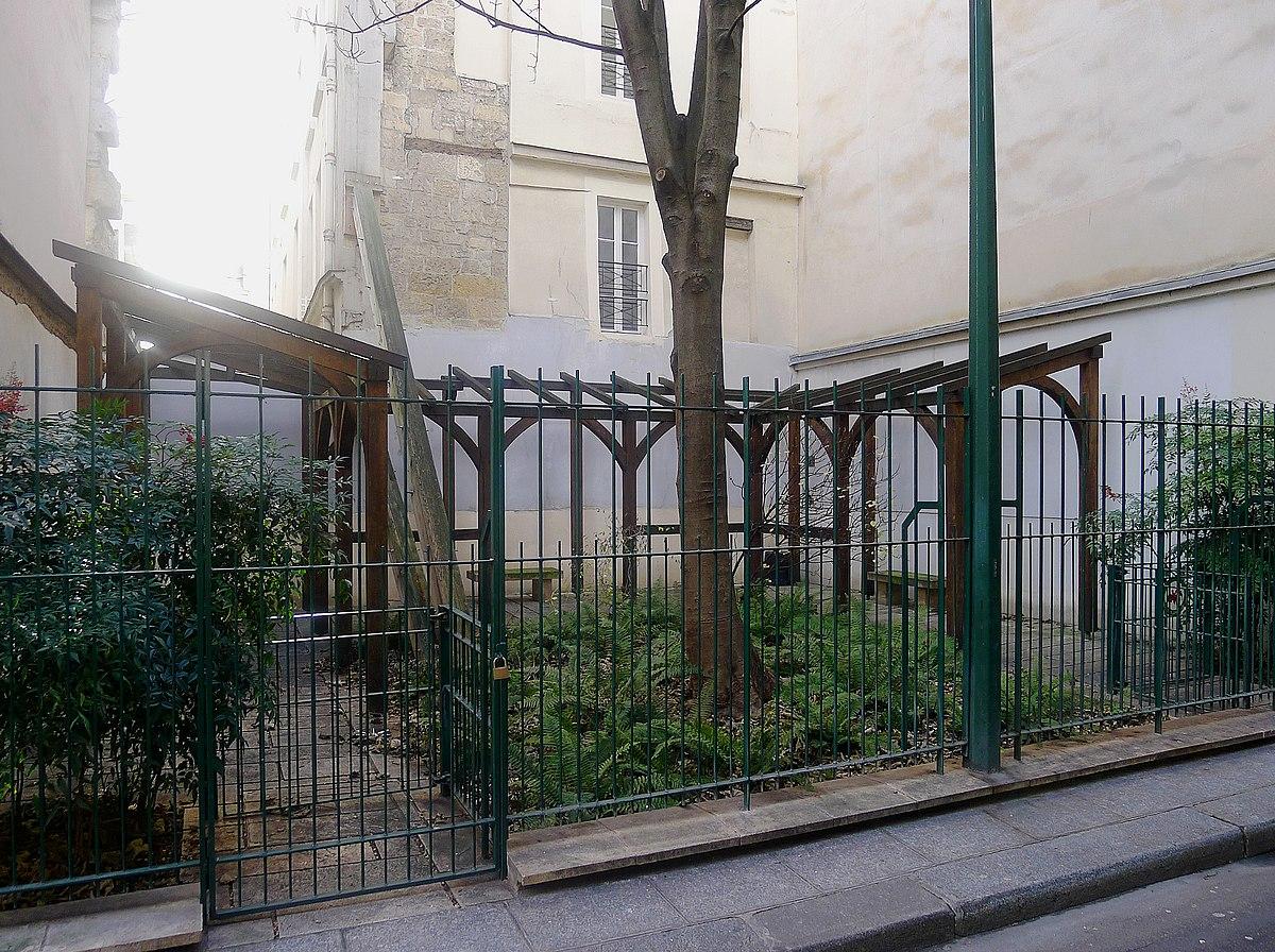 Jardin alice saunier se t wikip dia for Jardin 122 rue des poissonniers
