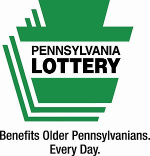 Pennsylvania Lottery official logo, which incl...