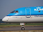 PH-EZN KLM Cityhopper Embraer ERJ-190STD (ERJ-190-100) taxiing, 25august2013.JPG