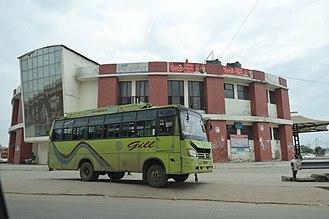 PEPSU Road Transport Corporation - PRTC Bus terminus at Zirakpur, Mohali.