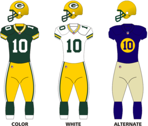 2014 Green Bay Packers season - Image: Packers 13uniform