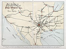 Map Of Texas Fort Worth.Fort Worth Texas Wikipedia