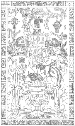 Pakal the Great tomb lid