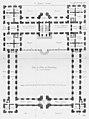 Palais du Luxembourg - Plan au rez-de-chaussée - Architecture françoise Tome2 Livre3 Ch8 Pl2.jpg