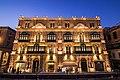 Palazzo Ferreria lit up.jpg