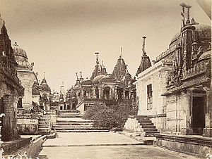 Palitana temples - Temples in 1860s
