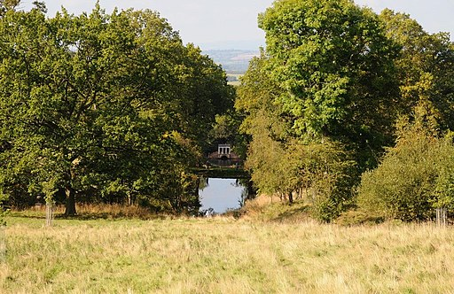 Palladian Bridge, Hagley Park, Worcs (geograph 4181354)