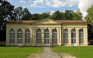 Ehem. Palmenhaus im Schlosspark Gmünd