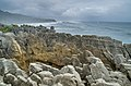 Pancake Rocks at Punakaiki in New Zealand.jpg