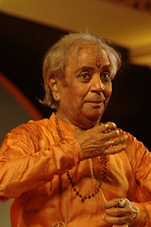 Birju Maharaj Indian dancer