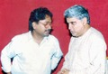 Pandit Vikash Maharaj and Sri Javed Akhtar, India.tiff