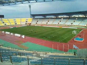 Pankritio Stadium - Image: Pankritio Stadium 2019