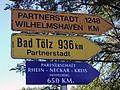 Panneau d'indication des villes jumelées avec Vichy 2014-07-16.JPG