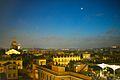 Panorama di Roma da Trinità dei Monti di notte.jpg