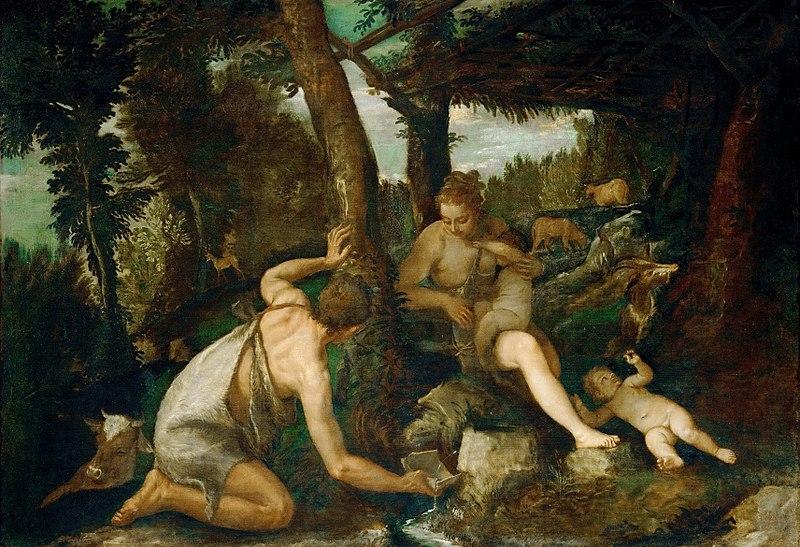 File:Paolo Veronese - Adamo ed Eva dopo la cacciata dal paradiso (KHM).jpg