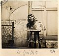 "Paris. 11-3-1917. Chez Mr Fayard sculpteur.""La Gaillette"". - Fonds Berthelé - 49Fi1878-24.jpg"