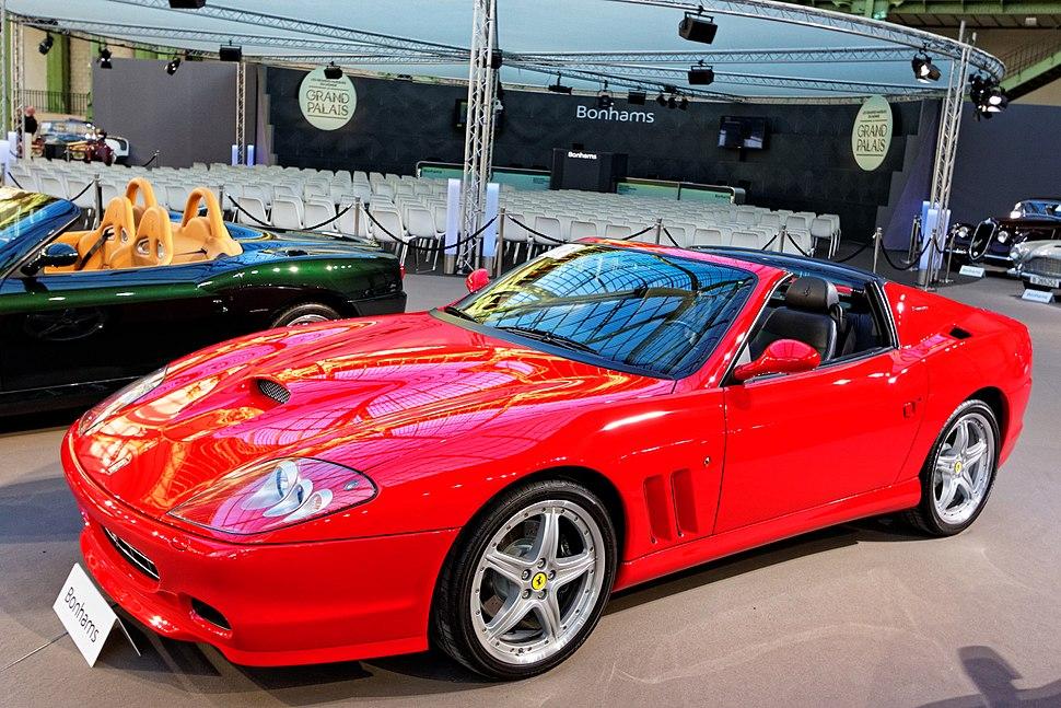 Paris - Bonhams 2016 - Ferrari 575 Superamerica - 2005 - 001