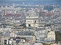 Paris Eiffelturm Aussicht et2 N Triumphbogen 1033 201310.jpg