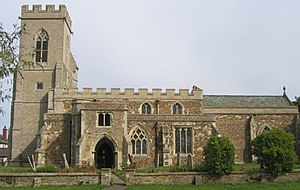Dunton, Bedfordshire - Image: Parish church, Dunton, Beds geograph.org.uk 50179