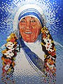 Park Street station of Kolkata, Mother Teresa.JPG