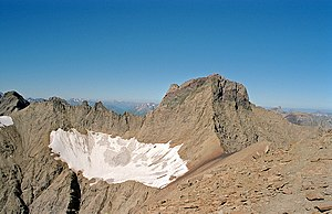 Lechtal Alps - Parseierspitze with Grinner Glacier