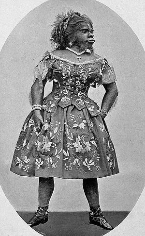 Freak - Julia Pastrana, a woman of unusual appearance