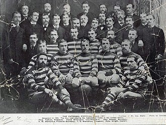 Paterson F.C. (NAFBL) - The Paterson team that won the 1923 Dewar Cup.