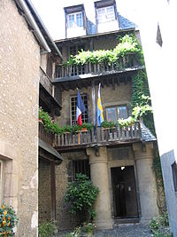 Bernadotte's birthplace in Pau, France Pau Bernadotte.JPG