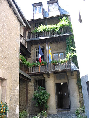 Charles XIV John of Sweden - Bernadotte's birth house in Pau, France