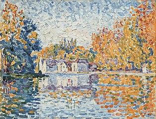 The Seine at Samois (Study)