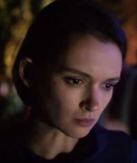 Паулина Андреева на съёмках телесериала «Метод 2»
