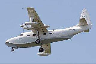 Grumman G-73 Mallard flying boat
